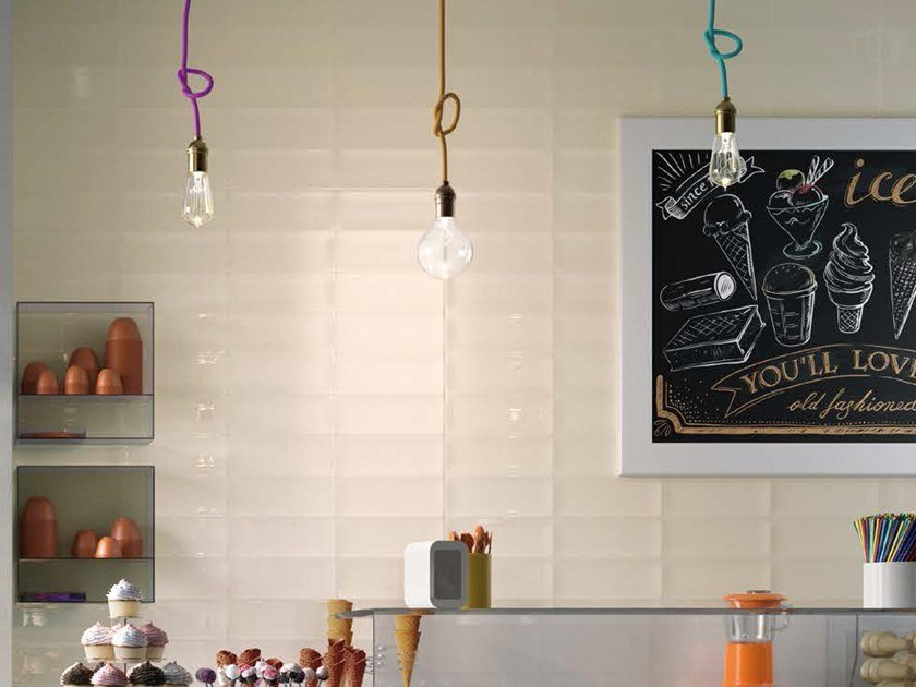 Double-fired ceramic wall tiles POP B by Ceramica d'Imola