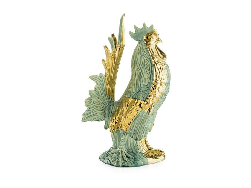 Ceramic sculpture POP COCK by MARIONI