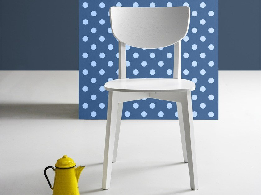 Wooden chair POP | Wooden chair by Natisa