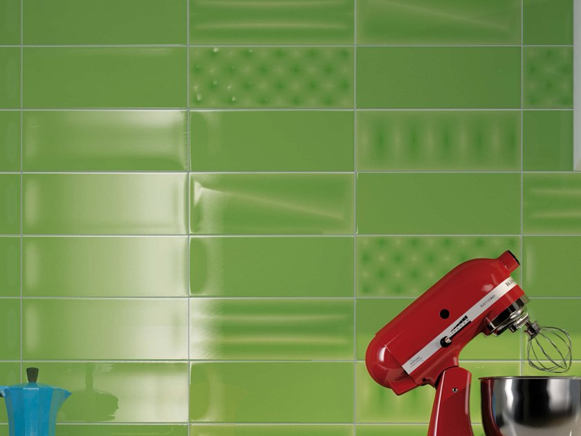 Double-fired ceramic wall tiles POP V by Ceramica d'Imola
