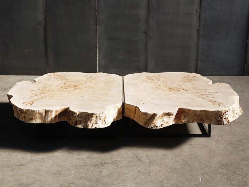Poplar coffee table POPLAR by Heerenhuis