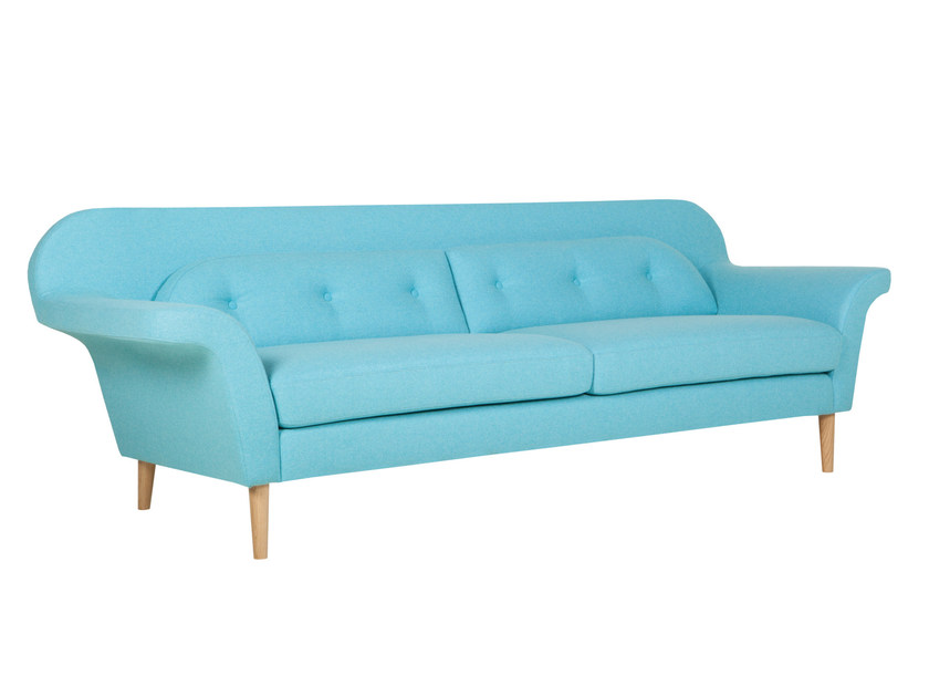Upholstered 3 seater fabric sofa POPPY | Sofa by SITS