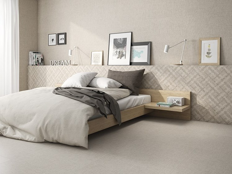 Porcelain flooring with textile effect HABANA   Porcelain flooring by ITT Ceramic