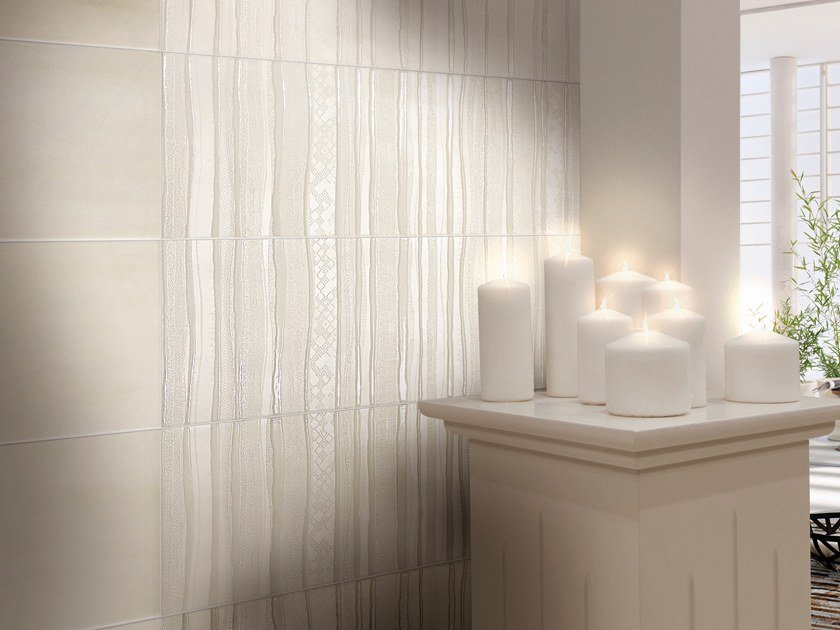 Indoor white-paste wall tiles PORCELLANA ETHNIC by CERAMICHE BRENNERO