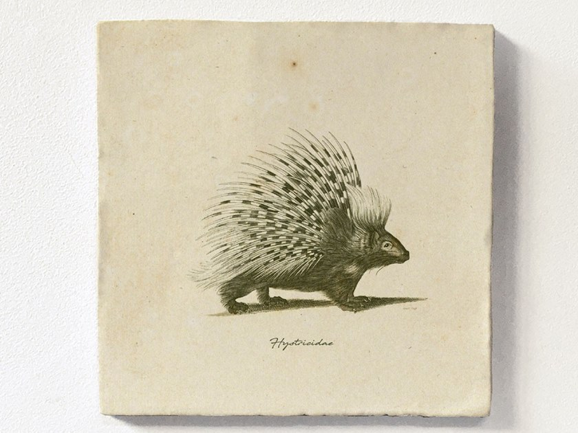 Magnetic tile PORCUPINE by Groovy Magnets