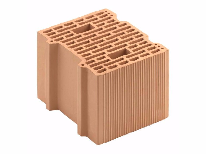 Loadbearing clay block for reinforced masonry Porotherm 30-24/19 by Wienerberger