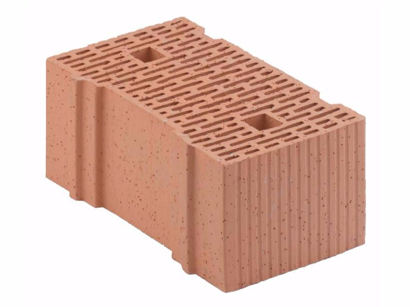 Loadbearing clay block for reinforced masonry Porotherm 42,5-25/19 by Wienerberger