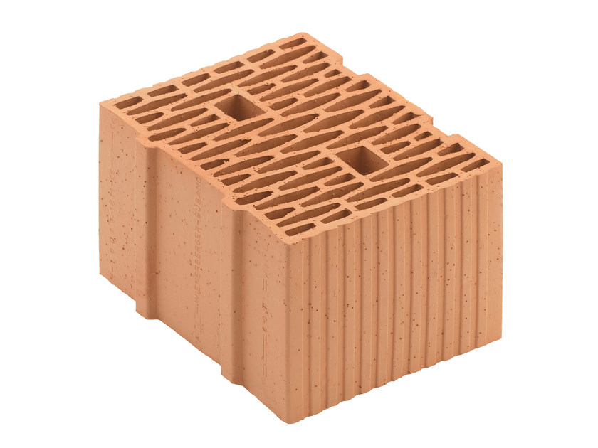 Loadbearing clay block for reinforced masonry Porotherm BIO PLAN 30-25/24,9 T - 0,09 by Wienerberger