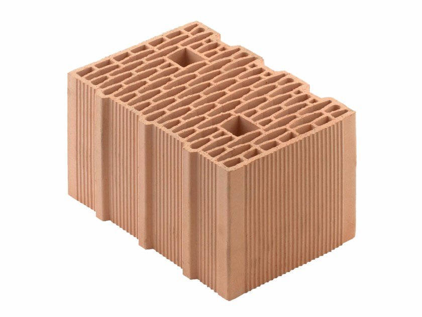 Loadbearing clay block for reinforced masonry Porotherm BIO PLAN 35-25/19,9 T - 0,12 by Wienerberger