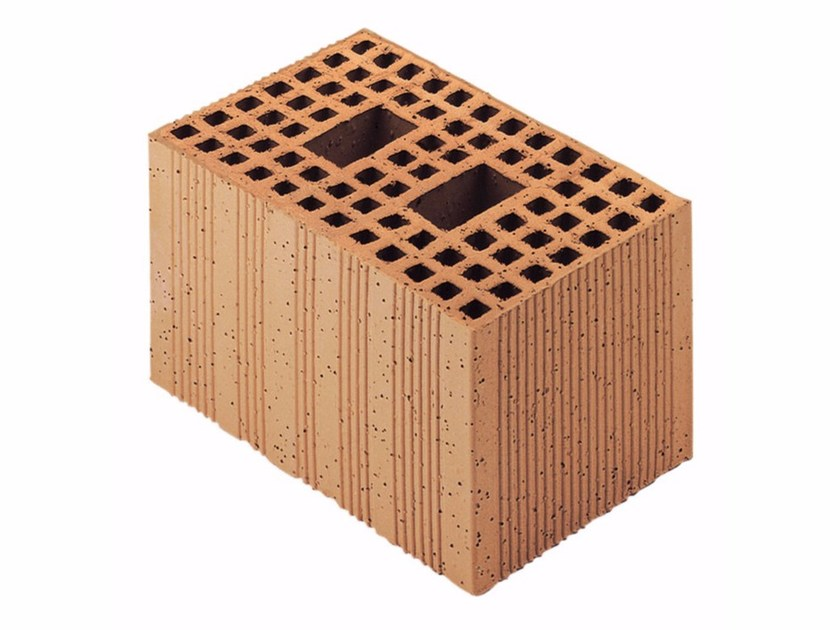 Loadbearing clay block for reinforced masonry Porotherm Modulare 30-20/19 (45 zs) by Wienerberger