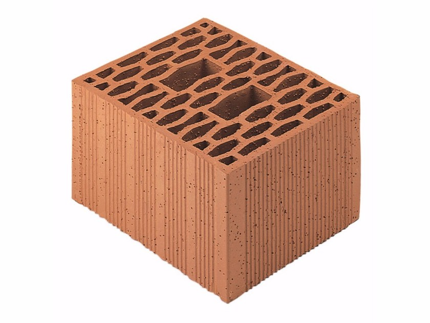 Loadbearing clay block for reinforced masonry Porotherm Modulare 30-25/19 (60) by Wienerberger