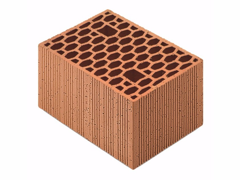 Loadbearing clay block for reinforced masonry Porotherm Modulare 35-25/19 (60) by Wienerberger
