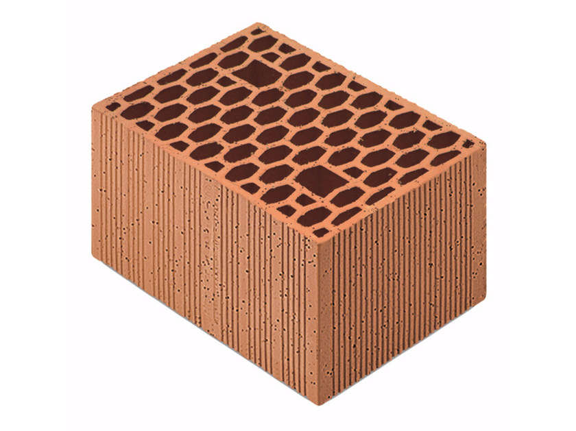 Loadbearing clay block for reinforced masonry Porotherm Modulare 35-25/23,8 (60) by Wienerberger
