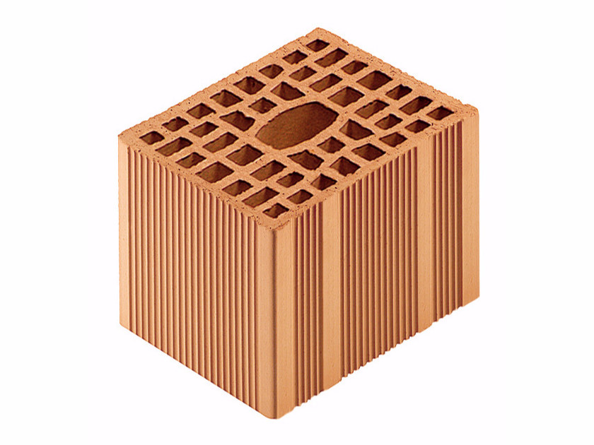 Loadbearing clay block for reinforced masonry Porotherm Modulare BIO 20-25/19 (45 zs) by Wienerberger