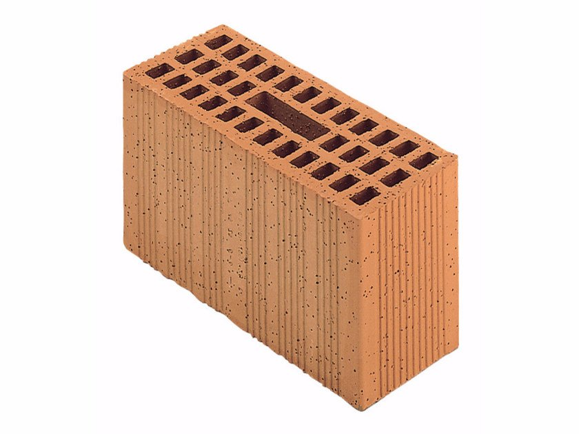 Loadbearing clay block for reinforced masonry Porotherm Modulare BIO 30-12/23,8 (45zs) by Wienerberger