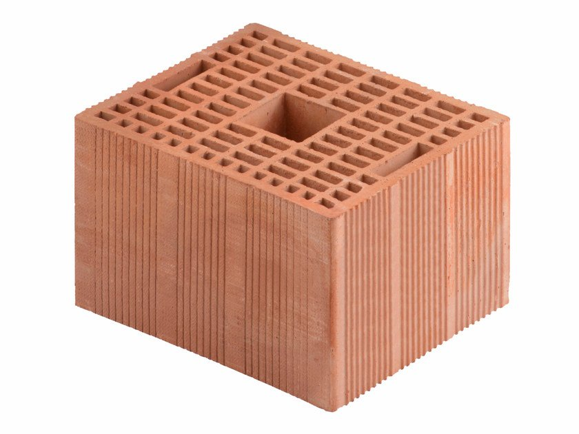 Loadbearing clay block for reinforced masonry Porotherm Modulare BIO 30-25/19 (45 zs) by Wienerberger