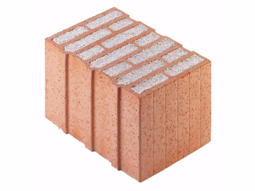 Thermal insulating clay block Porotherm PLAN PLUS 36,5 - 0,07 by Wienerberger