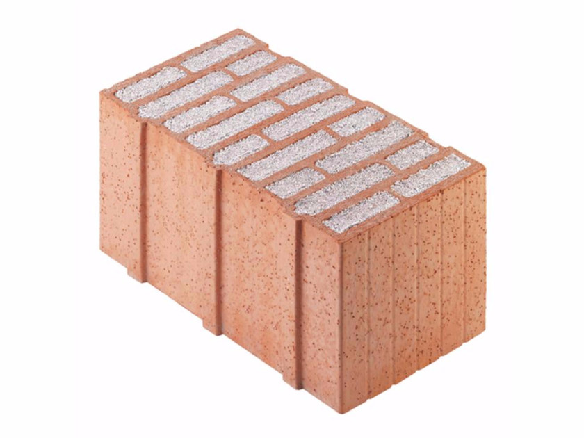 Thermal insulating clay block Porotherm PLAN PLUS 49 - 0,07 by Wienerberger