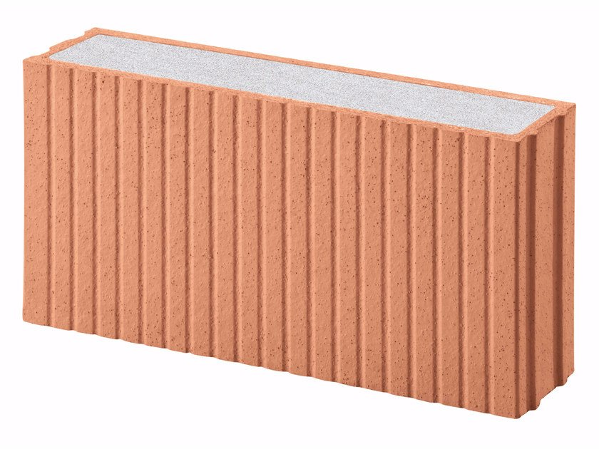 Thermal insulating clay block Porotherm PLAN PLUS Revolution 12 by Wienerberger