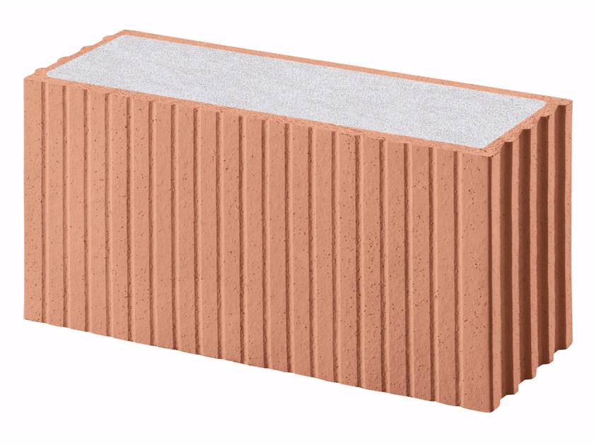 Thermal insulating clay block Porotherm PLAN PLUS Revolution 18 by Wienerberger