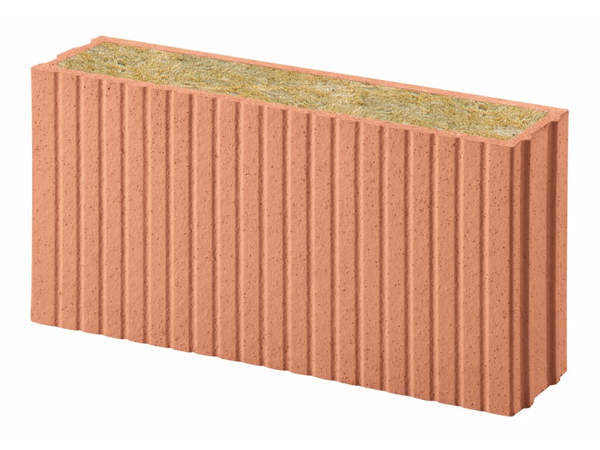 Thermal insulating clay block Porotherm PLANA+ Revolution 12 by Wienerberger