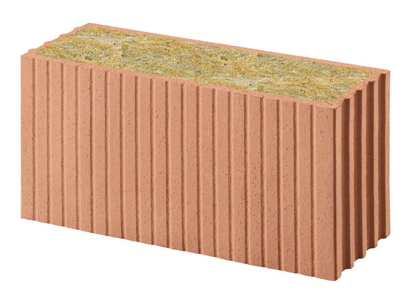 Thermal insulating clay block Porotherm PLANA+ Revolution 18 by Wienerberger