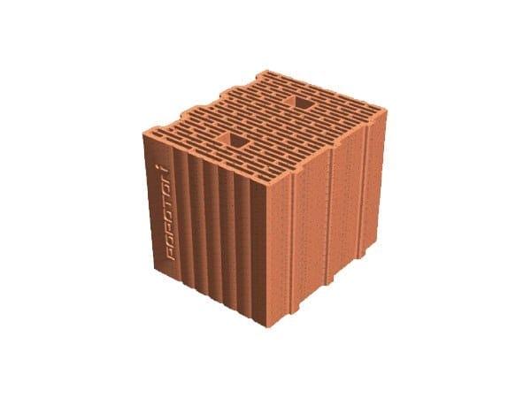 External masonry clay block POROTON® PLAN 30X24,5X23,5 by T2D