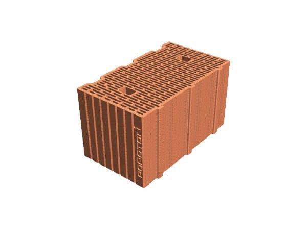 Blocco per tamponamento in laterizio POROTON® PLAN 42,5X24,5X23,5 by T2D