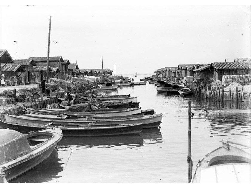Stampa fotografica PORT OSTREICOLE by Artphotolimited