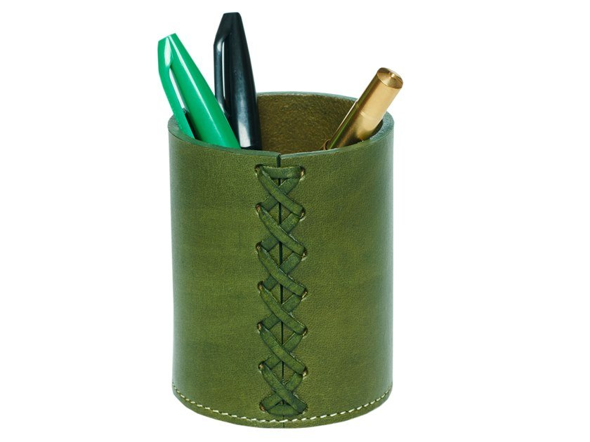 Leather pen holder 353 | Pen holder by FROHSINN