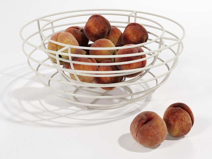 Iron fruit bowl PORTAFRUTTA by Barel