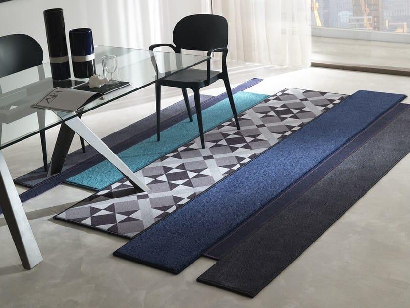 Handmade fabric rug PORTOBELLO by Besana Moquette