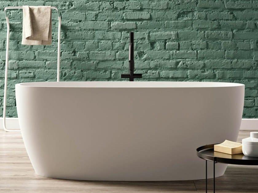 BluStone oval bathtub PORTOFINO by Blu Bleu