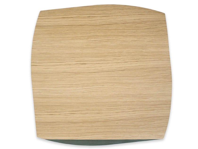 Tovaglietta quadrata in legno PORTOFINO OAK DARK GREEN ASH | Tovaglietta quadrata by LIGNIS®