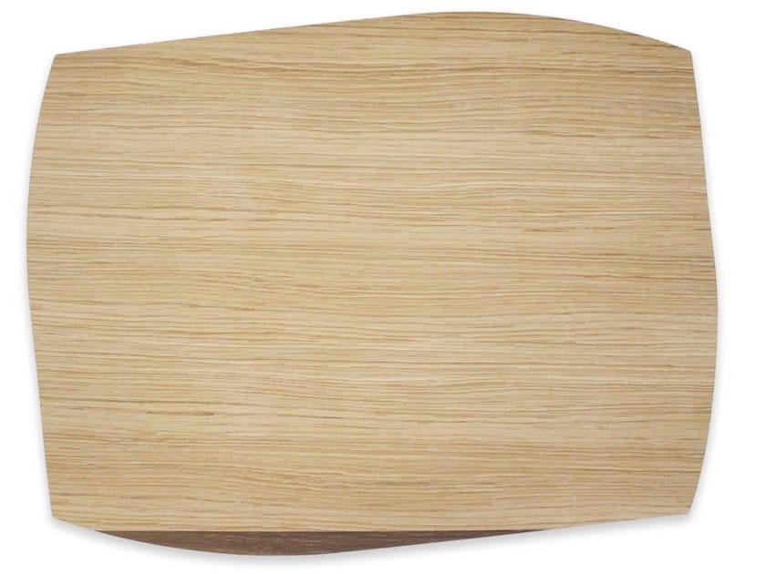 Tovaglietta rettangolare in legno PORTOFINO WALNUT   Tovaglietta rettangolare by LIGNIS®