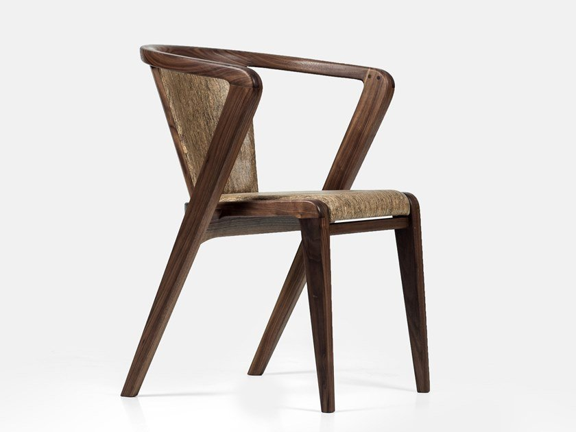 Solid wood chair with armrests PORTUGUESE ROOTS   Chair by AROUNDtheTREE
