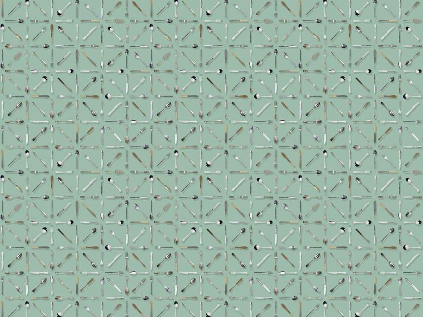 Wallpaper / floor wallpaper POSATE by Texturae