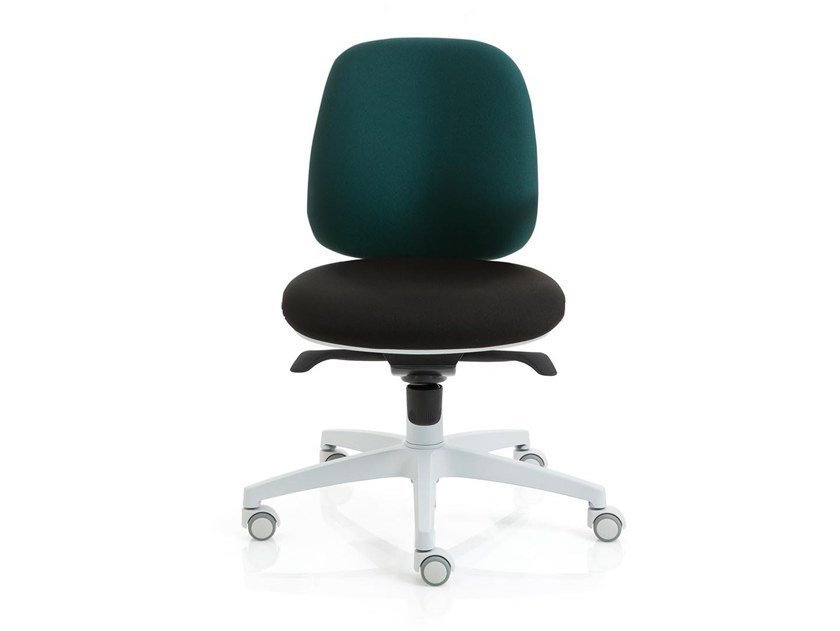Task chair with 5-Spoke base with casters POST 20 | Task chair by Luxy