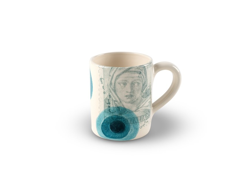Mug in ceramica POSTCARD MAIA 01248F by MARIONI