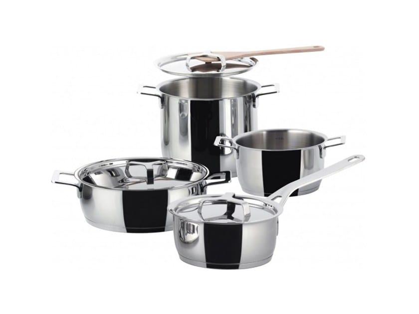 POTS&PANS | Batteria di pentole Collezione POTS&PANS By Alessi ...