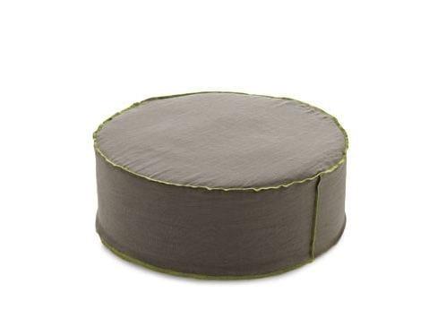 Upholstered fabric pouf Pouf by Arcom