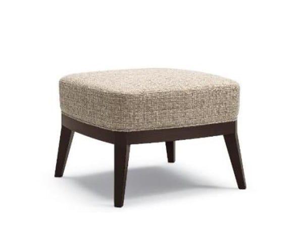 Upholstered fabric pouf BLIOS | Pouf by Cizeta L'Abbate