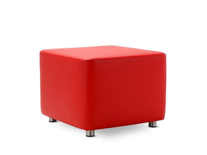 Upholstered pouf RIDE | Pouf by Domingo Salotti