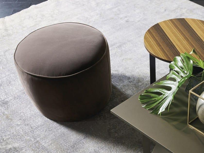 Round velvet pouf GRACE | Pouf by EmmeBi
