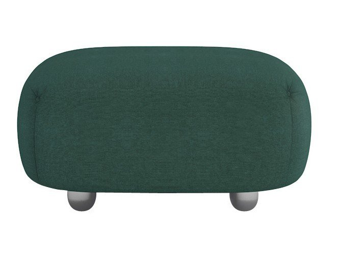 Upholstered fabric pouf OUVERTURE | Pouf by Maletti