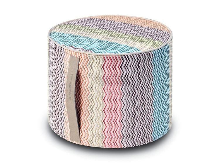 Fabric pouf SIBUYAN   Pouf by MissoniHome