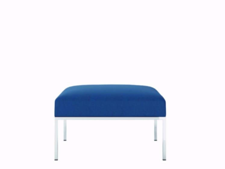 Upholstered pouf ASTRO | Pouf by Quadrifoglio