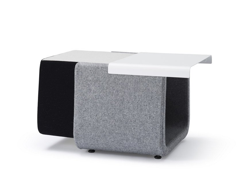 Pouf / tavolino in tessuto HIP | Pouf by Quinti Sedute