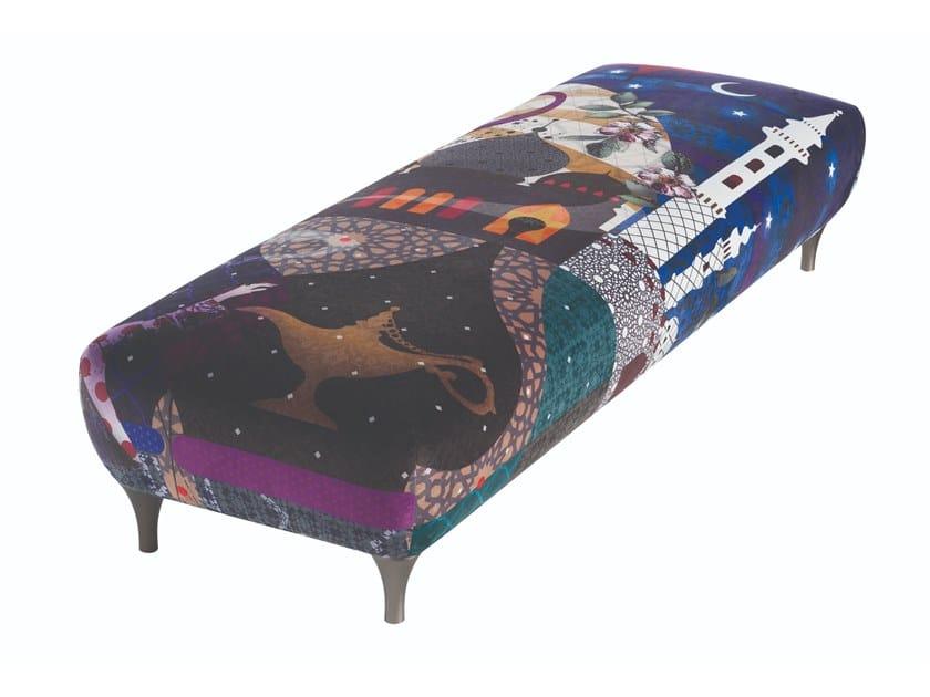 Pro cosmo z divano letto con pouf poggiapiedi cuscino in