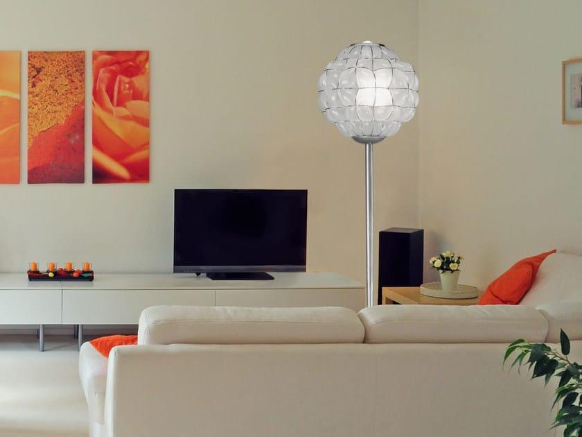 Murano glass floor lamp POUFF RP 383 by Siru